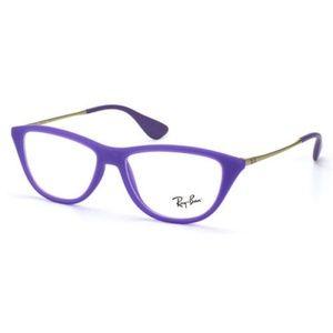 Ray-Ban Eyeglasses Violet w/Demo Lens